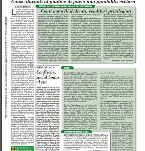 ARTICOLO-tenuita-del-fatto-ranghi-ridotti-italia-oggi-del-29-11